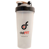 dotFIT Shaker Bottle - Black (28 oz)